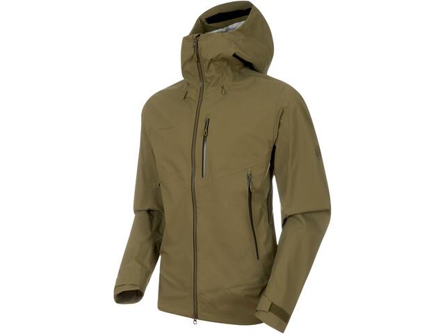 Mammut Kento HS Hooded Jacket Herren olive
